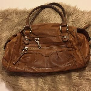 Fossil bag really soft leather. Vintage
